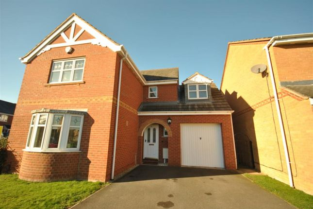 Thumbnail Detached house for sale in Gavin Close, Thorpe Astley, Braunstone