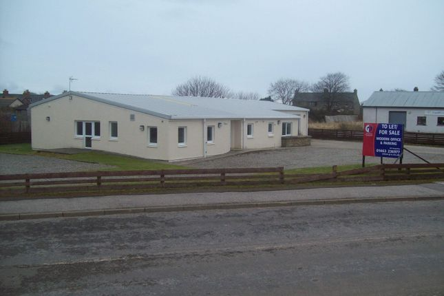 Thumbnail Office for sale in Unit 5A/5B Industrial Estate, Brora