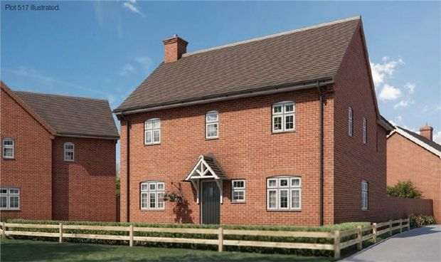 Thumbnail Detached house for sale in The Hawker At Chiswell Place, New Cardington, Bedfordshire