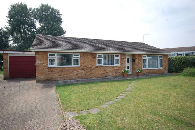 Thumbnail Detached bungalow for sale in Monksgate, Thetford