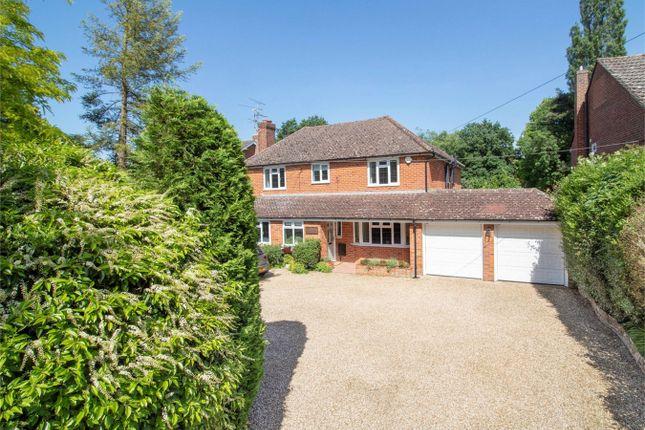 Thumbnail Detached house for sale in Crondall Road, Crookham Village, Fleet