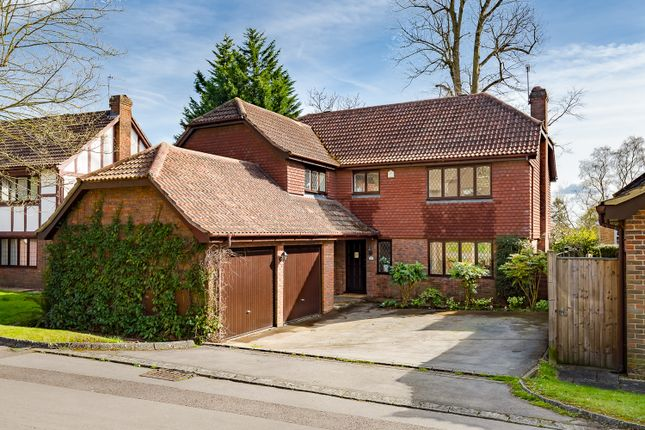 Thumbnail Detached house for sale in Rose Wood, Woking