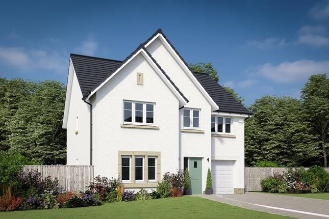 "Thumbnail Detached house for sale in ""The Crichton"" at Mauricewood Road, Penicuik"