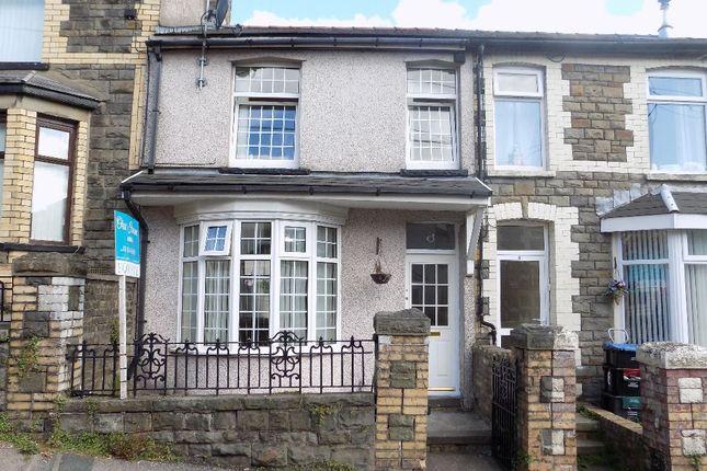 Thumbnail Terraced house for sale in Coronation Road, Six Bells, Abertillery. 2Pj.