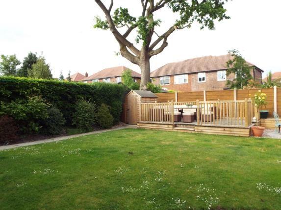 Garden of Derwent Drive, Handforth, Cheshire, . SK9