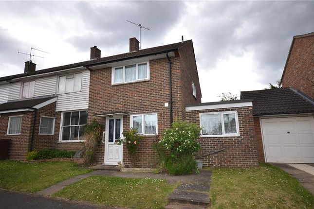 Thumbnail End terrace house for sale in Winchgrove Road, Bracknell, Berkshire