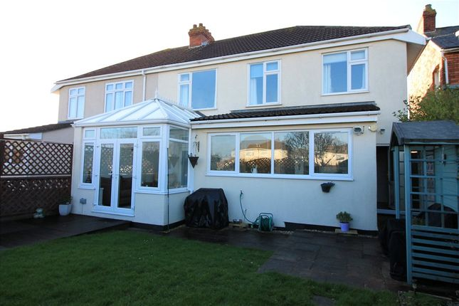 Thumbnail Semi-detached house for sale in Worle, Weston-Super-Mare