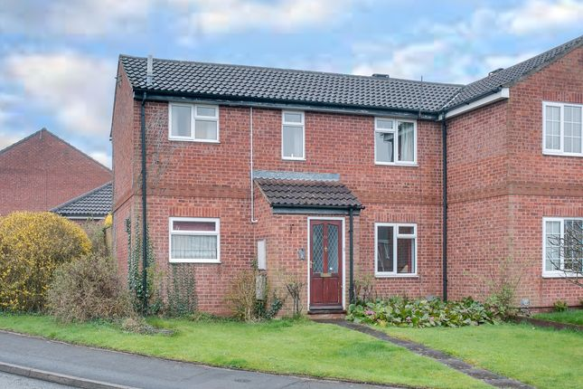Thumbnail End terrace house for sale in Spetchley Close, Redditch