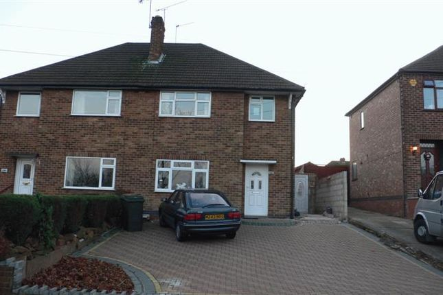 Thumbnail Semi-detached house to rent in Kenpas Highway, Finham, Coventry