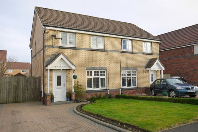 Thumbnail Semi-detached house for sale in Obree Avenue, Prestwick