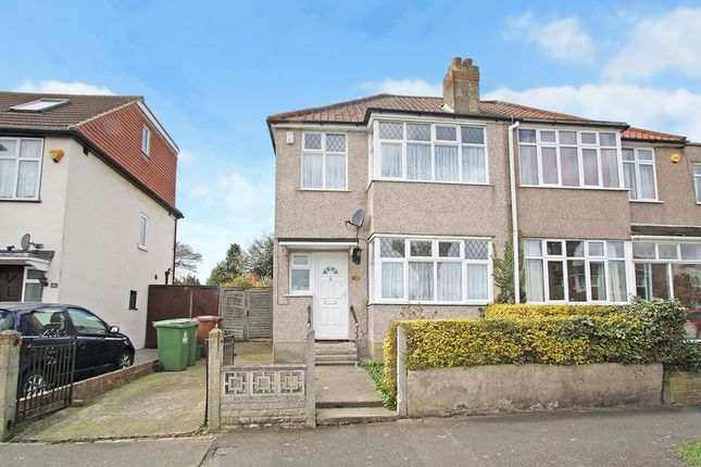 Thumbnail Semi-detached house to rent in Osborne Road, Upper Belvedere