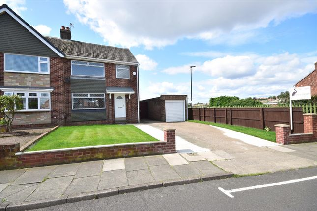 Thumbnail Semi-detached house for sale in Warwick Drive, East Herrington, Sunderland