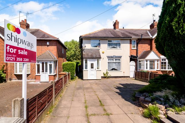 Thumbnail End terrace house for sale in Botany Road, Walsall, Walsall