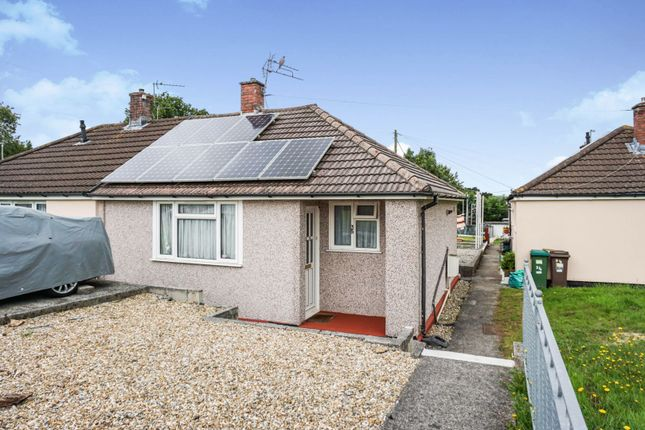 Thumbnail Semi-detached bungalow for sale in Buckfast Close, Plymouth