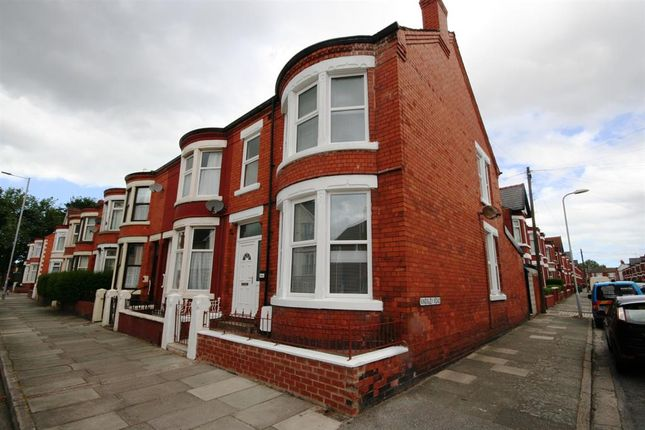Thumbnail End terrace house for sale in Poulton Road, Wallasey
