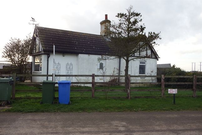 Thumbnail Detached bungalow for sale in Wash Road, Fosdyke, Boston