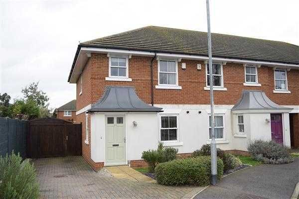 Thumbnail Semi-detached house to rent in St. Lawrence Chase, Ramsgate