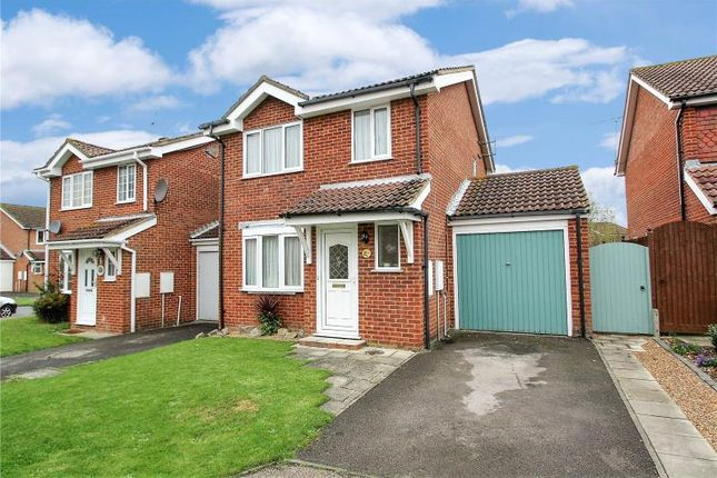 Thumbnail Link-detached house for sale in Kingfisher Close, Worthing, West Sussex