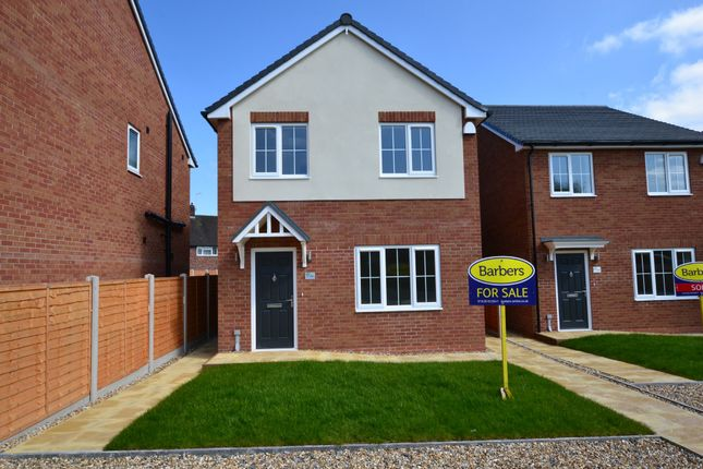 Thumbnail Detached house for sale in Christchurch Lane, Market Drayton