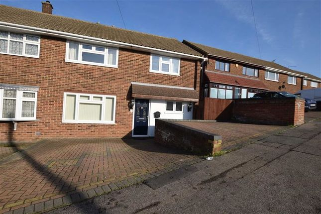 Thumbnail Semi-detached house for sale in Abbotts Drive, Stanford-Le-Hope, Essex