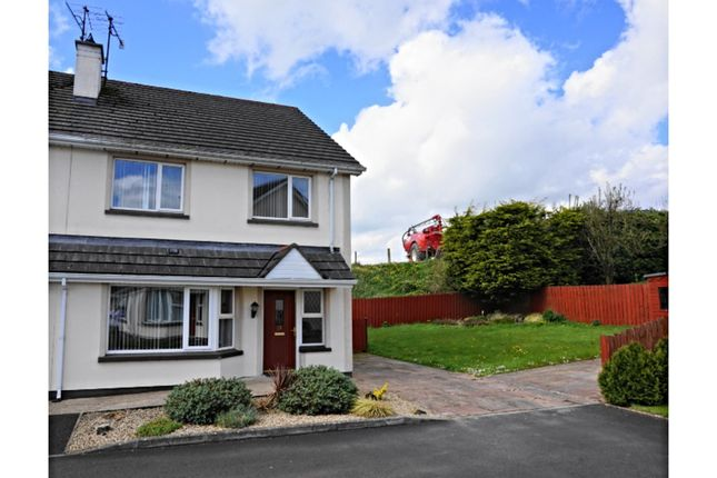 Thumbnail Semi-detached house for sale in Oakland Mews, Castlederg