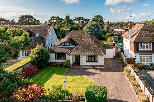 Thumbnail Detached bungalow for sale in Sea Avenue, Sea Estate, Rustington