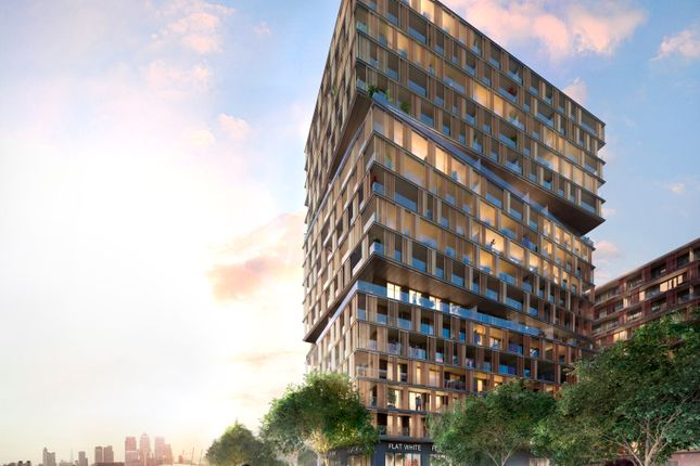Thumbnail Flat for sale in 17.02.04 James Cook Building, Royal Wharf, London