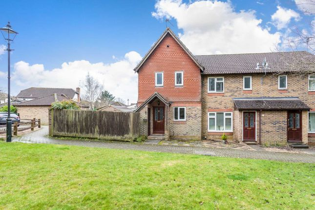Thumbnail End terrace house for sale in Haybarn Drive, Horsham
