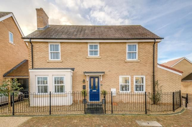 Thumbnail Detached house for sale in Gemini Lane, Biggleswade, Bedfordshire