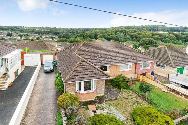 Thumbnail Semi-detached bungalow for sale in Staddon Park Road, Plymouth, Devon