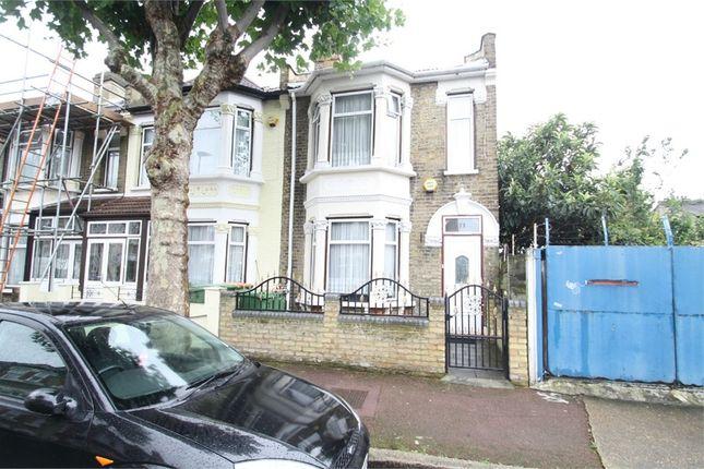 Thumbnail End terrace house for sale in Byron Avenue, Manor Park, London