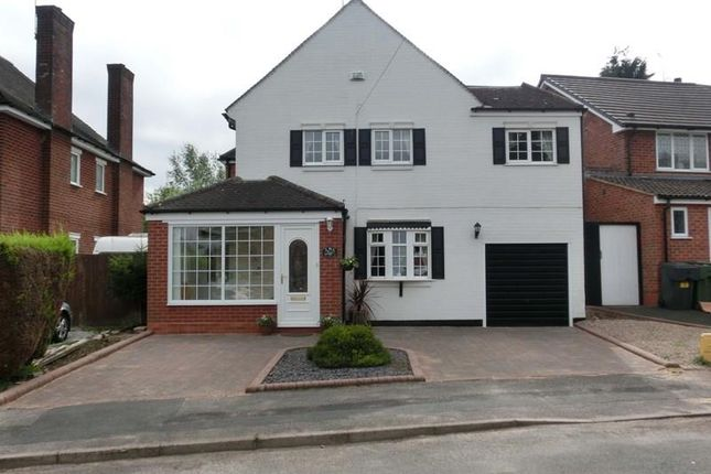 Thumbnail Detached house for sale in Three Oaks Road, Wythall, Birmingham