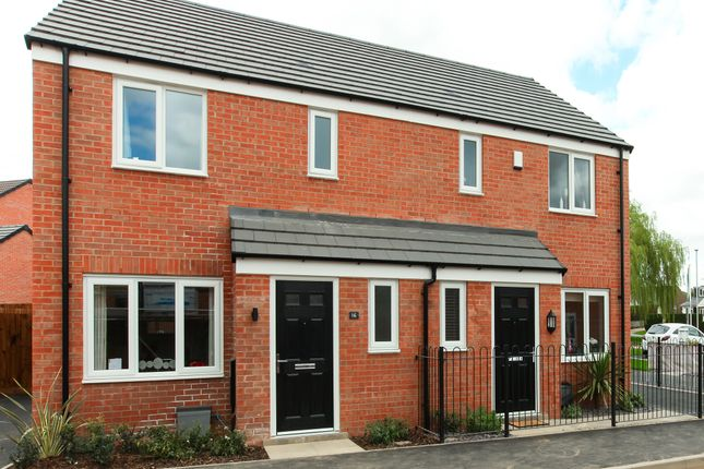 """3 bed terraced house for sale in """"The Hanbury"""" at Badger Close, Fleckney, Leicester LE8"""