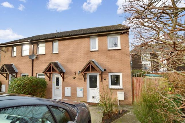Thumbnail End terrace house for sale in Kirkstall Close, Plymouth, Devon