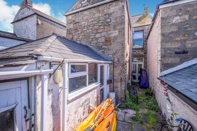Rear Courtyard of Penzance, Cornwall, . TR18