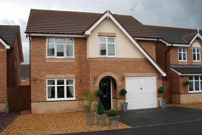 Thumbnail Detached house to rent in Stuart Close, Wigan