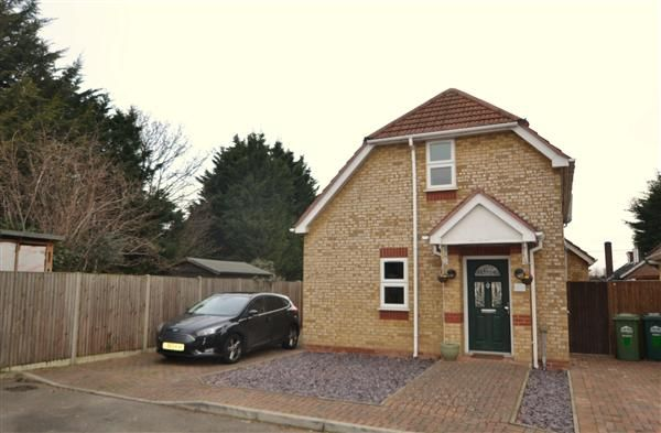 Thumbnail Detached house for sale in Ashford Close, Ashford