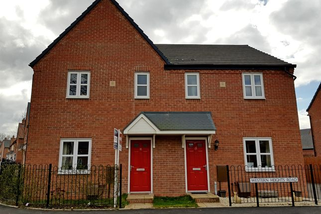 Thumbnail Semi-detached house for sale in Western Heights Road, Meon Vale, Stratford-Upon-Avon
