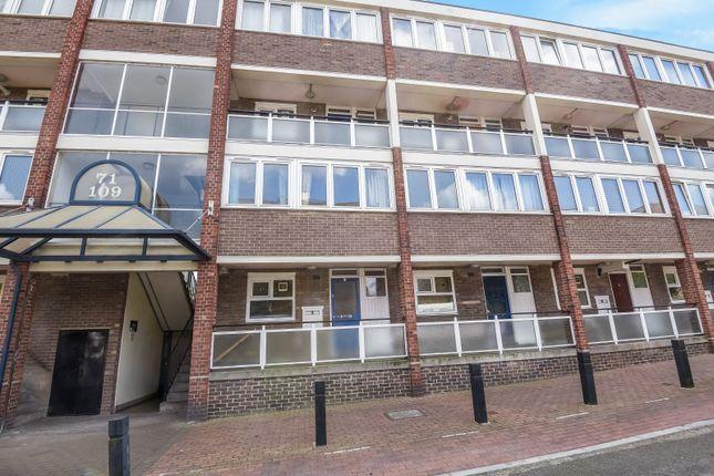 External of Barringer Square, London SW17