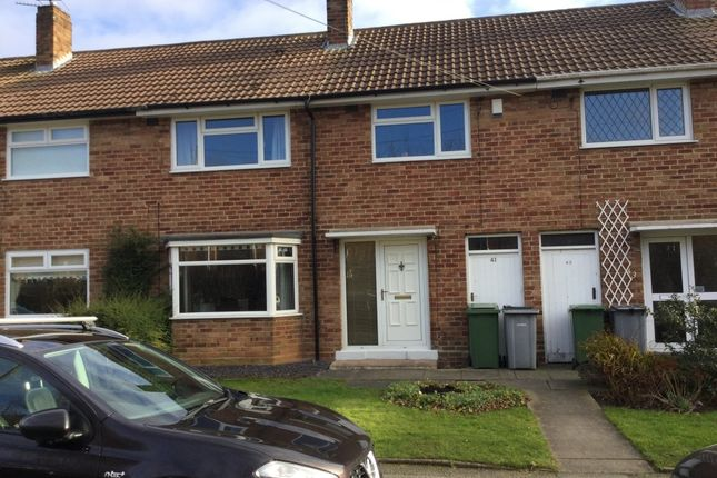 Thumbnail Terraced house to rent in Delamere Court, Delamere Avenue, Eastham, Wirral