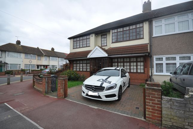 Thumbnail Semi-detached house to rent in Western Avenue, Dagenham Essex
