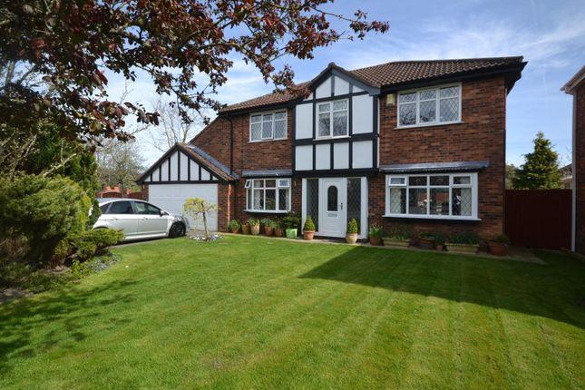 Thumbnail Detached house for sale in Blackshaw Drive, Westbrook, Warrington
