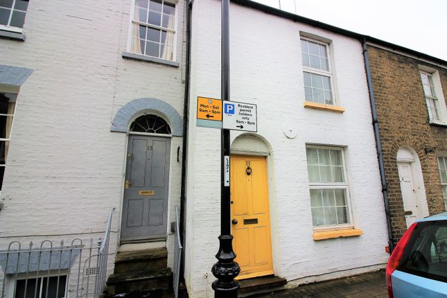 Thumbnail Terraced house to rent in Earl Street, Cambridge