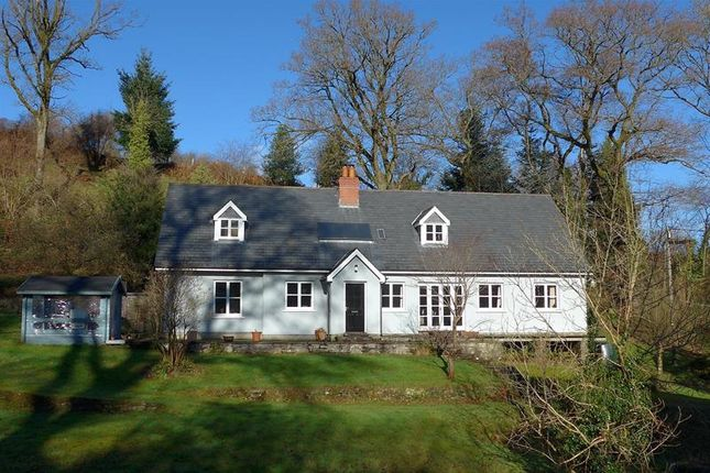 Thumbnail Detached house for sale in The Aber, Talybont-On-Usk, Brecon