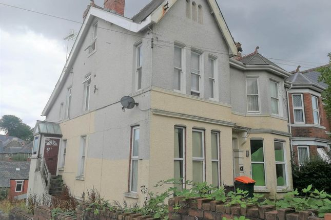 Thumbnail Semi-detached house for sale in Oakfield Road, Newport