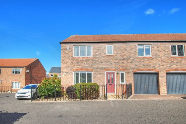 Thumbnail 4 bed semi-detached house for sale in Chipchase Mews, Gosforth, Newcastle Upon Tyne