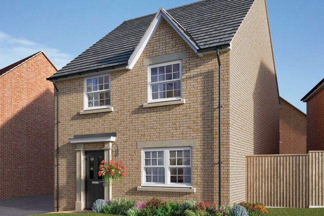 "Thumbnail Detached house for sale in ""The Mylne"" at Uffington Road, Barnack, Stamford"