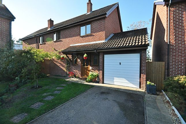 Thumbnail Detached house for sale in Everson Road, Tasburgh, Norwich