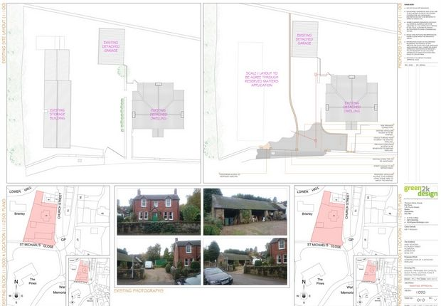 Thumbnail Land for sale in Church Street, Holbrook, Belper, Derbyshire