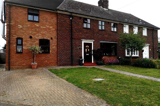 Semi-detached house for sale in Tillbrooks Hill, Cowlinge, Newmarket